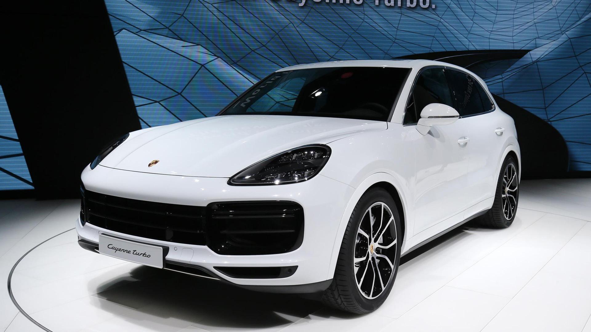 2019 Porsche Cayenne Turbo, 2017 2017 Frankfurt Motor Show