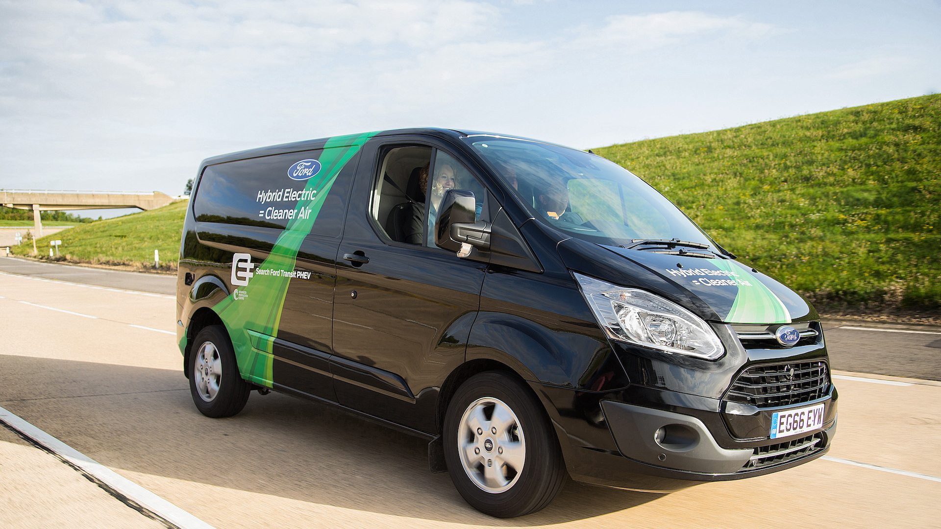 Ford Transit Plug-In Hybrid van for the UK