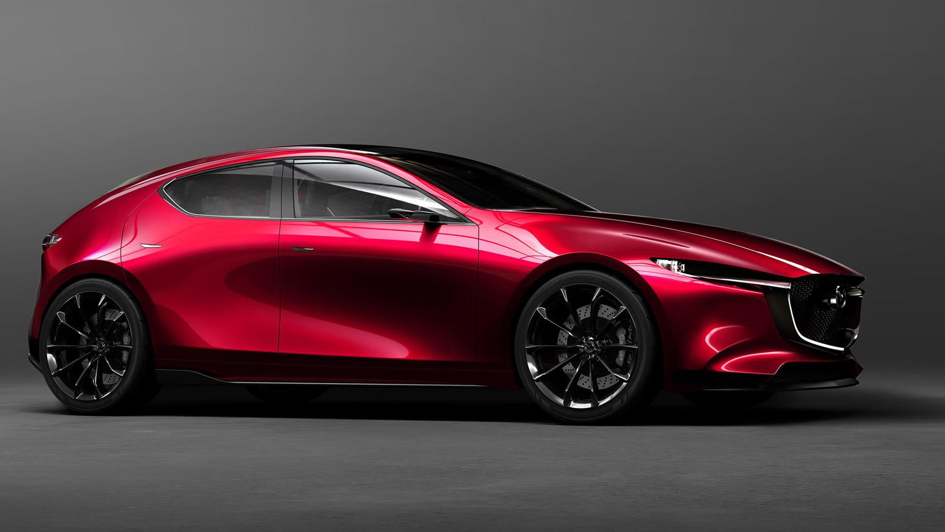 Mazda Kai concept, 2017 Tokyo Motor Show
