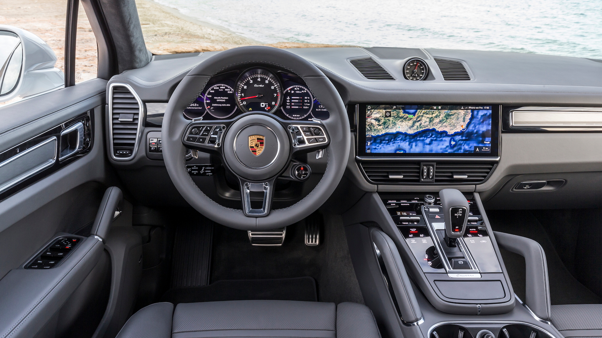 First drive review The 2019 Porsche Cayenne Turbo sets all
