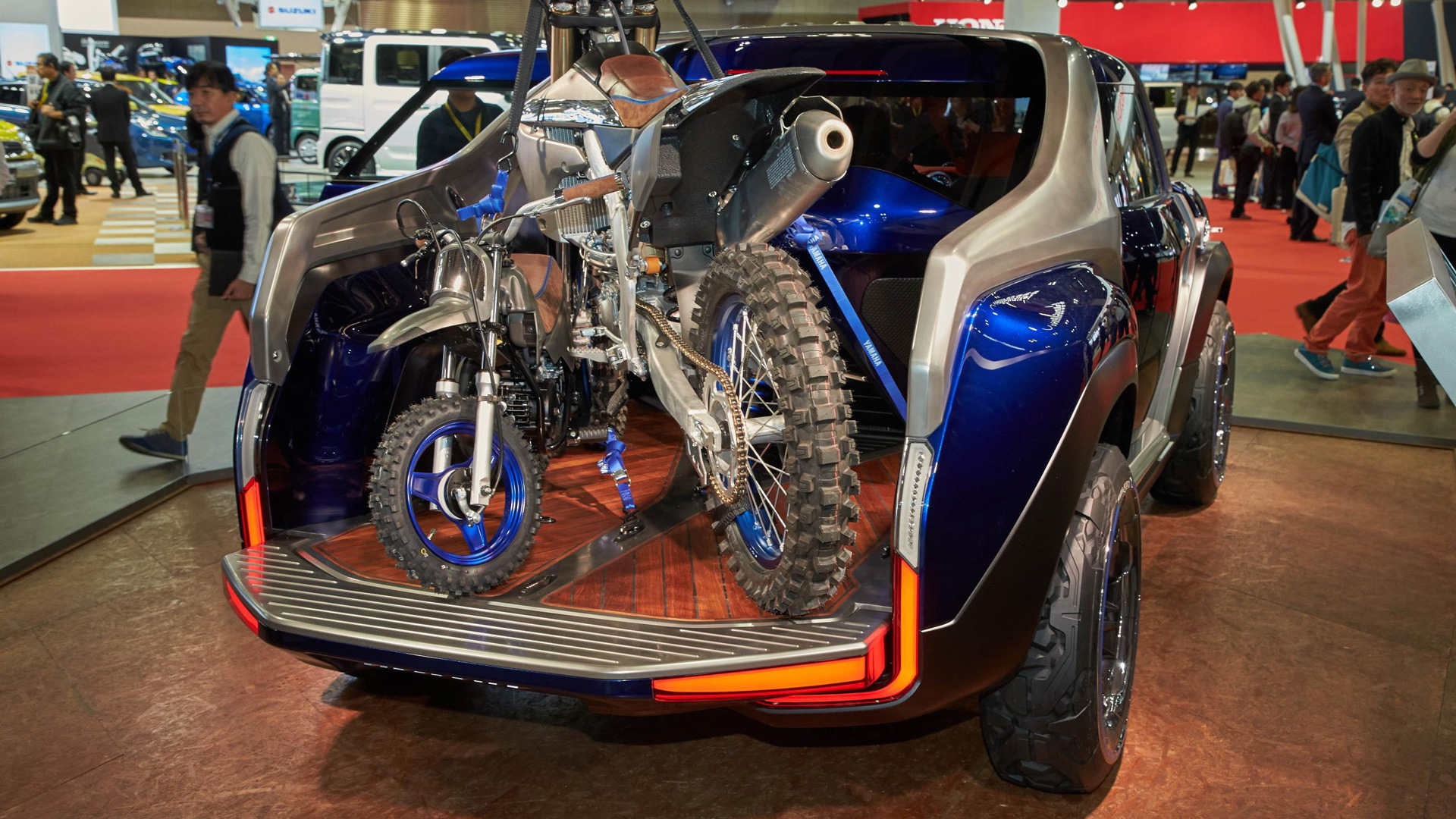 Yamaha Cross Hub concept, 2017 Tokyo Motor Show