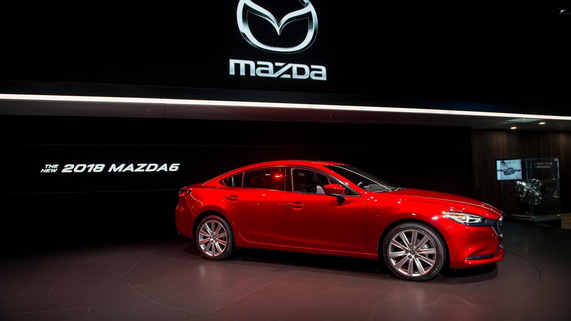 2018 Mazda MAZDA6, 2017 Los Angeles Auto Show