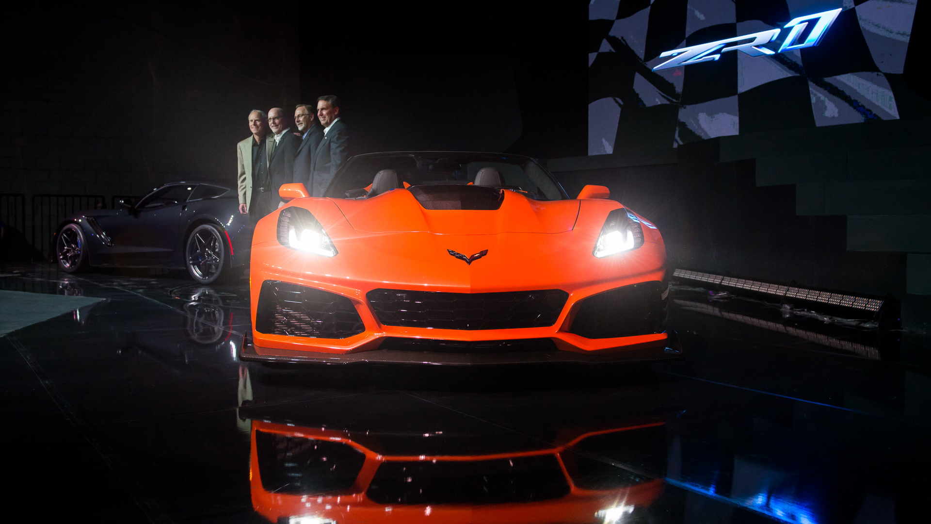 2019 Chevrolet Corvette ZR1 Convertible, 2017 Los Angeles Auto Show
