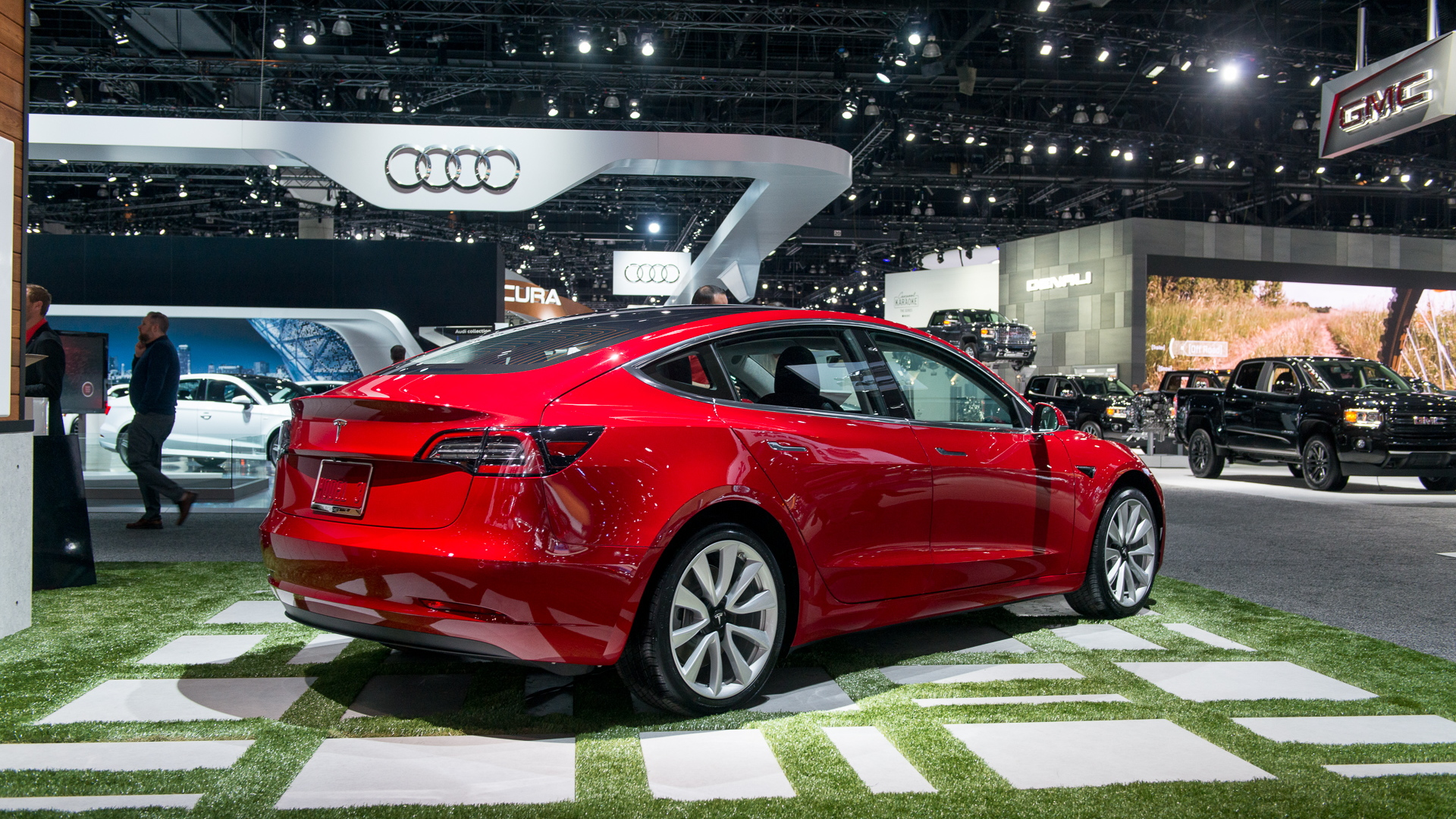 2017 Tesla Model 3 Los Angeles Auto Show