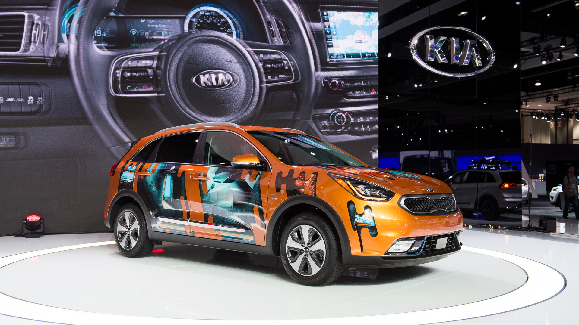 2018 Kia Niro Plug-In, 2017 Los Angeles Auto Show