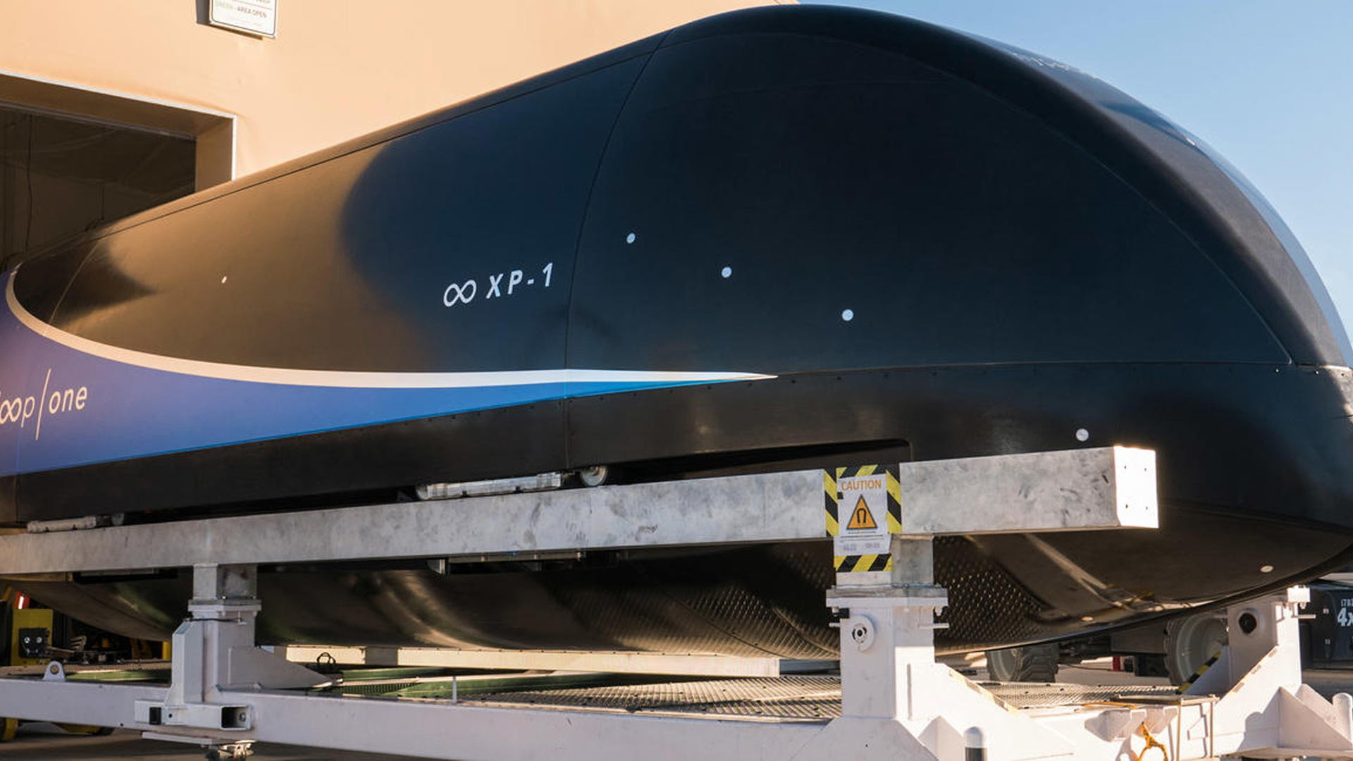 Virgin Hyperloop One test pod