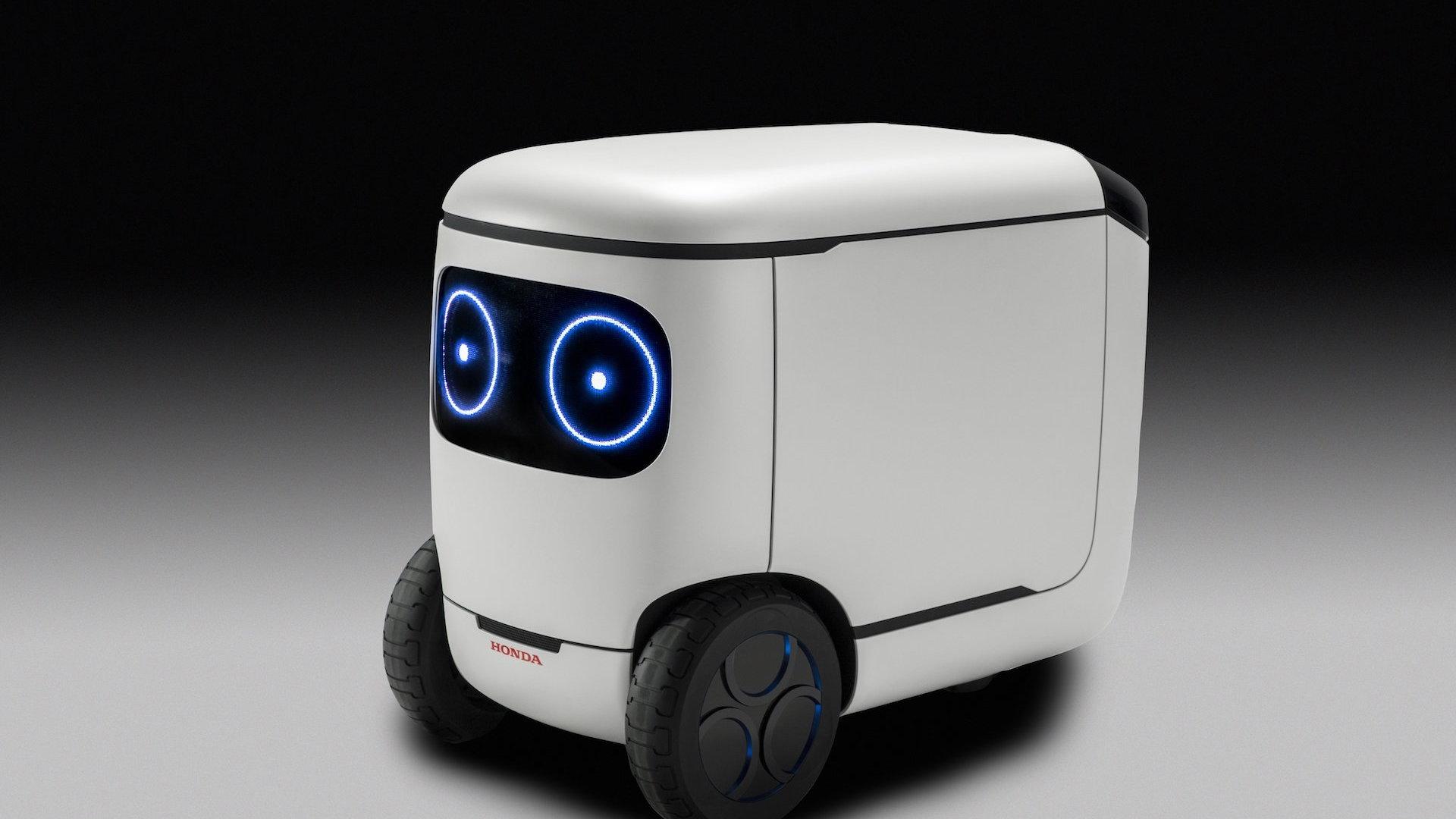 Honda 3E-C18 robot concept at 2018 CES