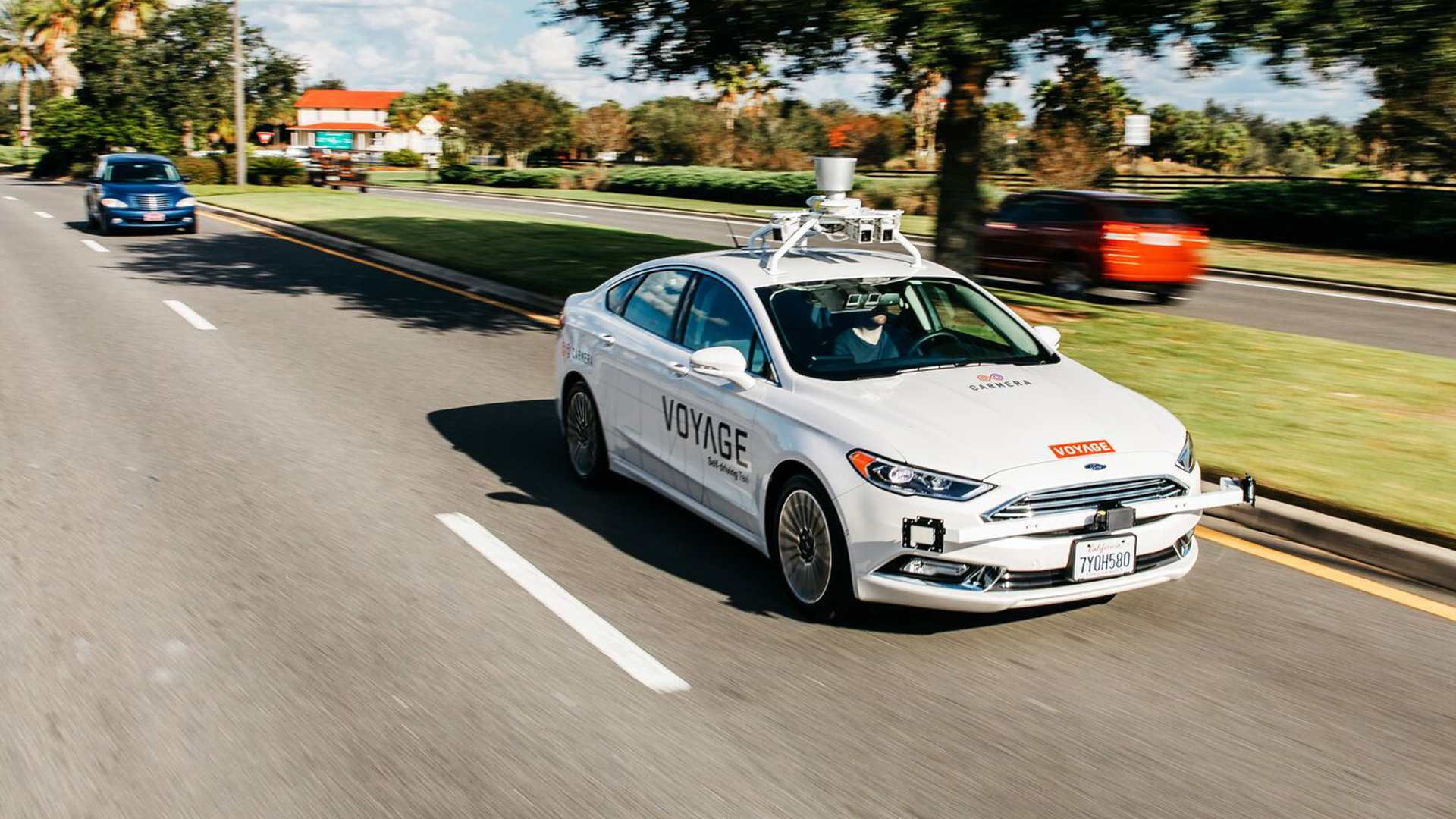 Voyage self-driving car prototype