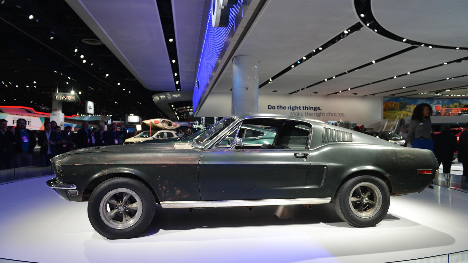 """1968 Ford Mustang from the Steve McQueen movie """"Bullitt"""""""