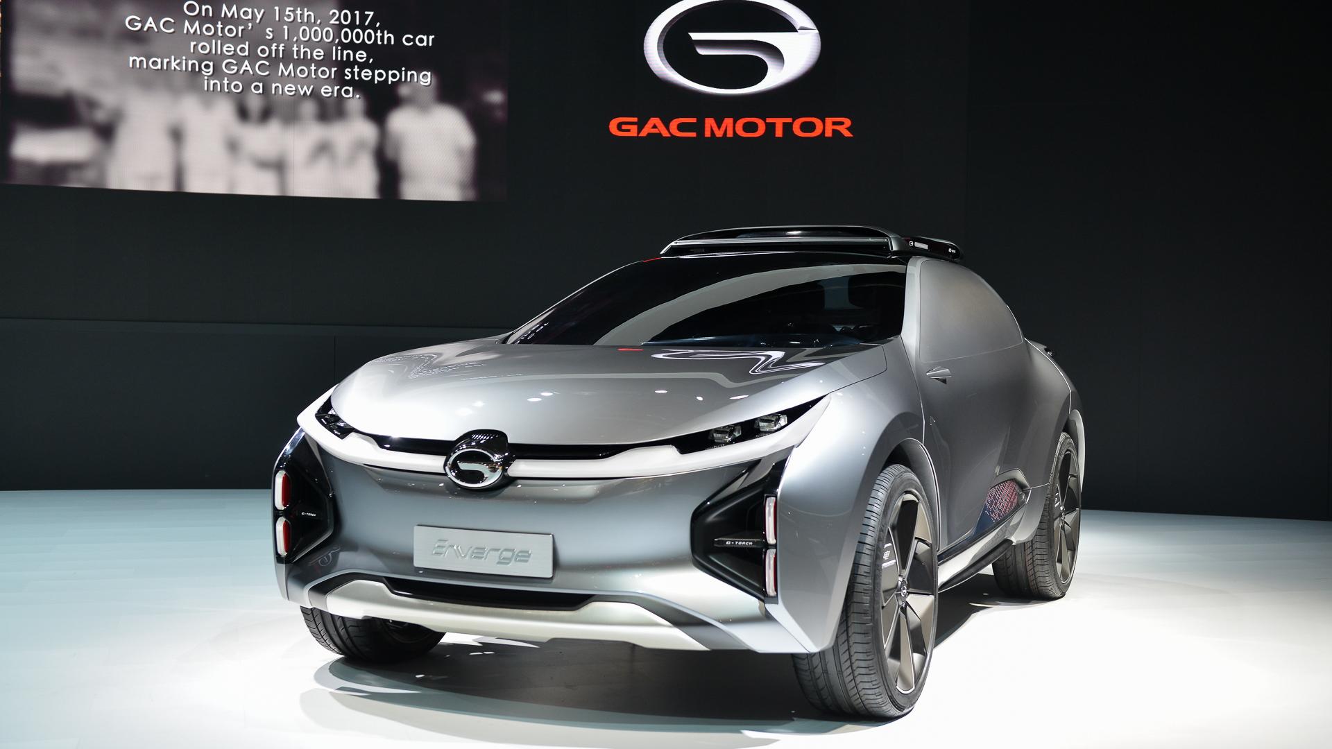 GAC Enverge concept, 2018 Detroit auto show