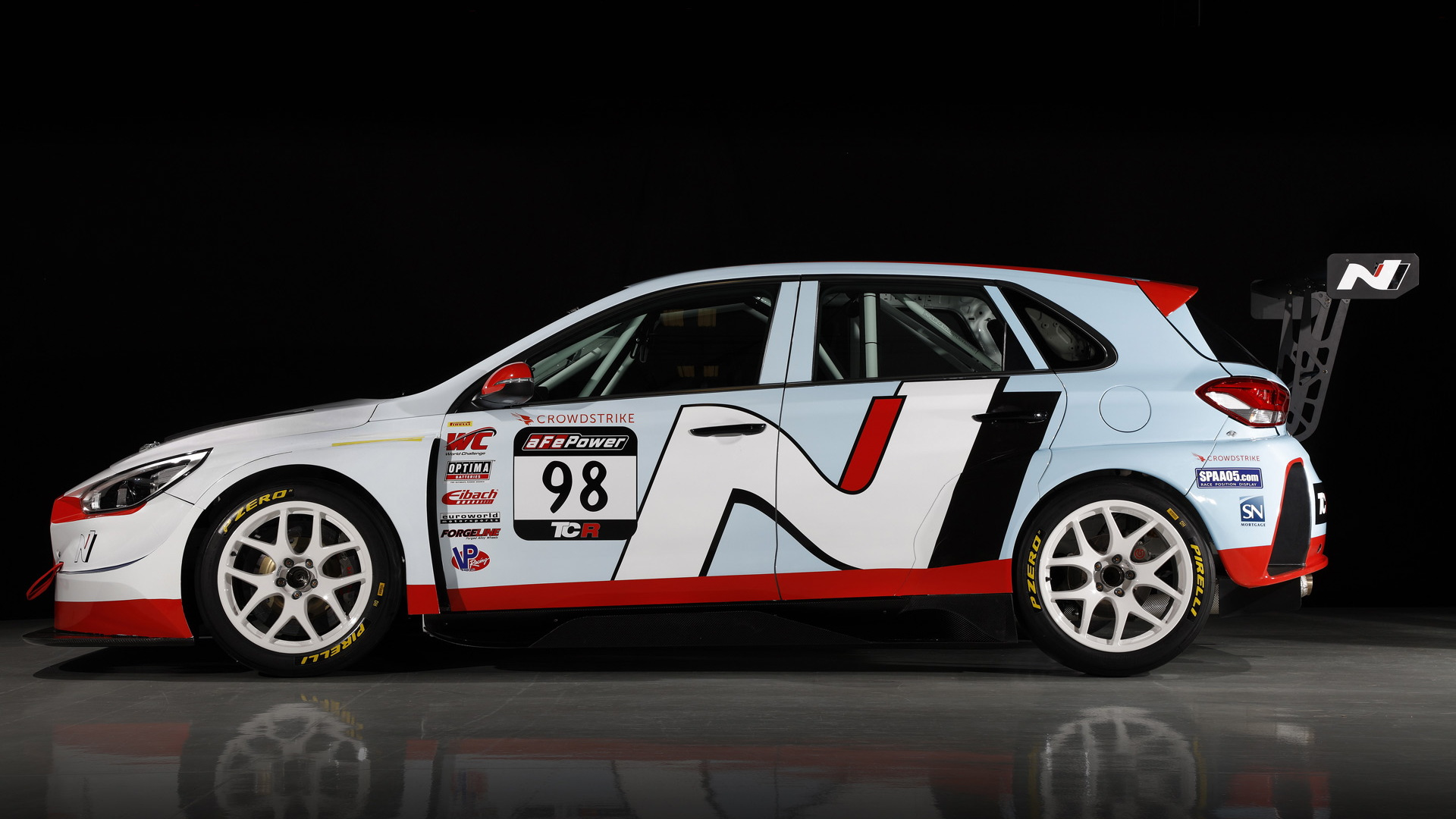 2018 Hyundai i30 N TCR race car