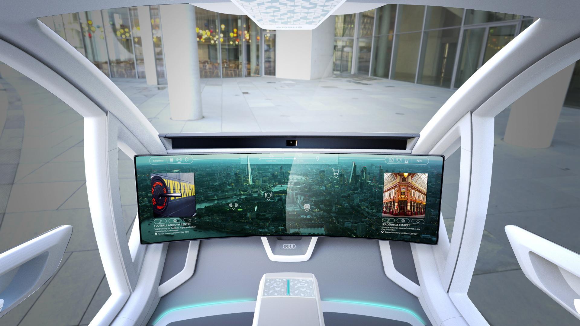 Audi, Airbus, Italdesign Pop. Up Next concept