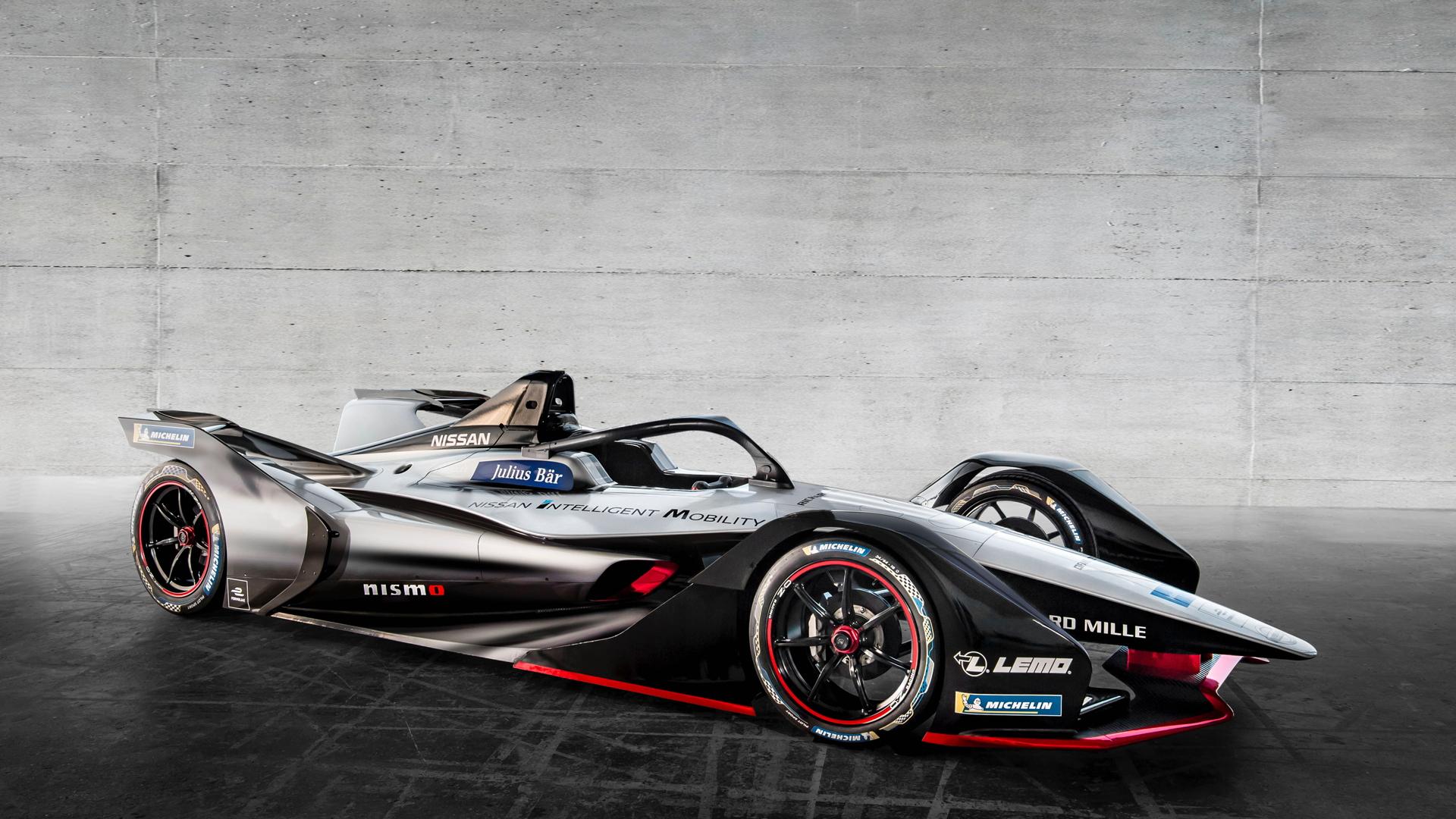 Nissan Formula E Livery