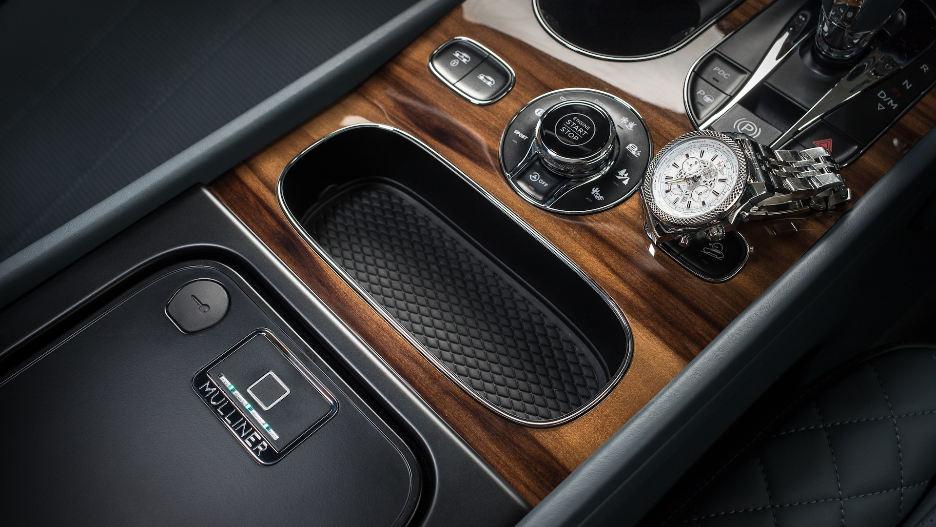 Bentley biometric security compartment for Bentayga