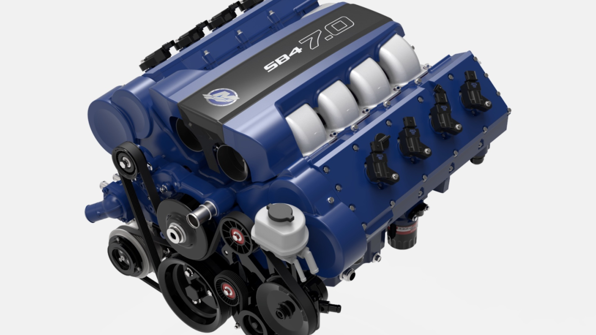 Mercury Racing 7.0-liter SB4 V-8 crate engine