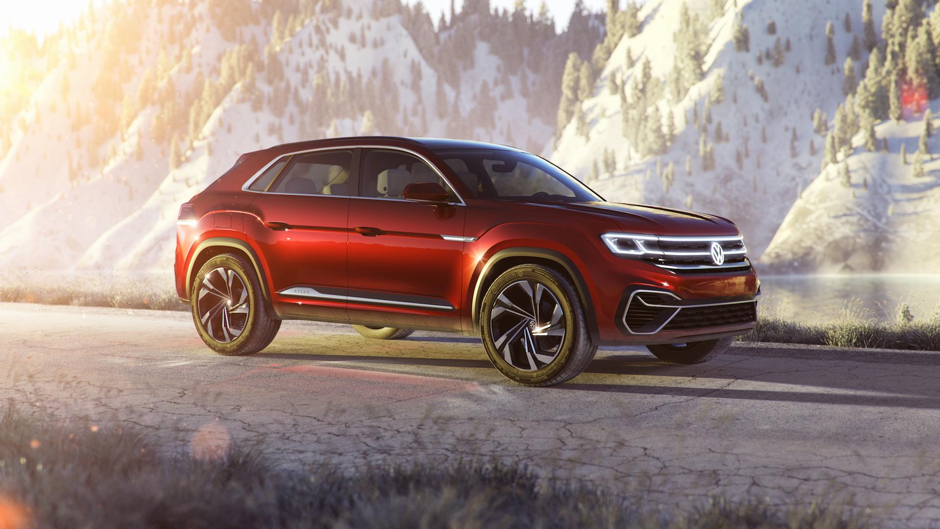 Volkswagen Atlas Cross Sport concept