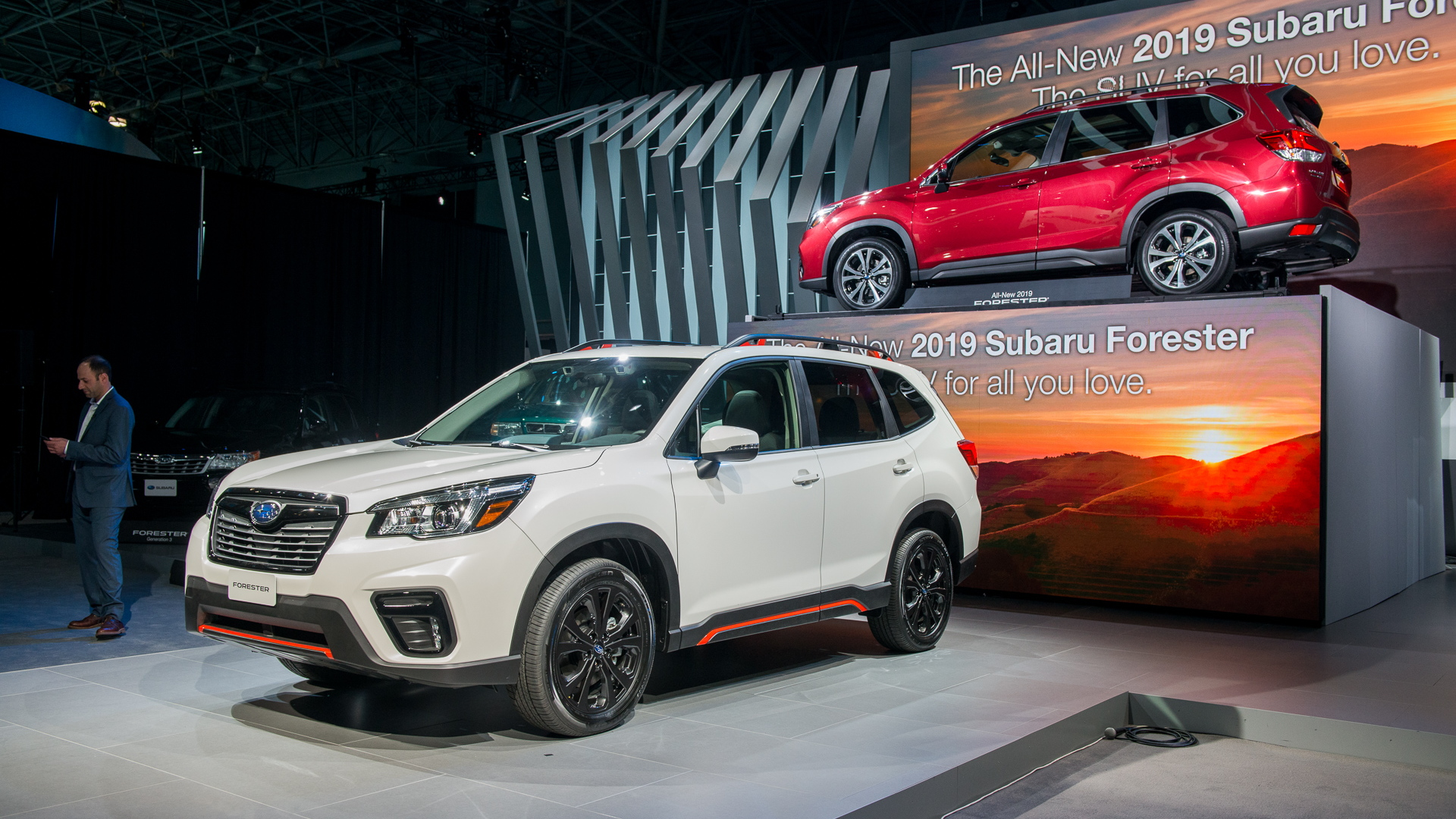 2019 Subaru Forester, 2018 New York auto show