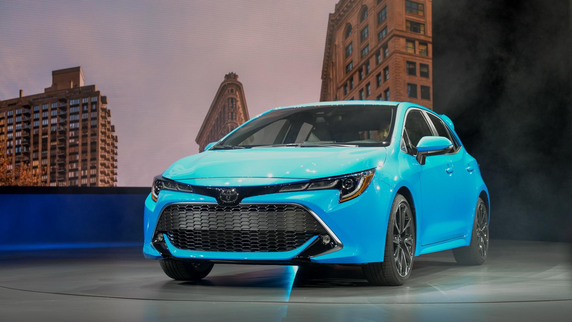 2019 Toyota Corolla hatchback, 2018 New York auto show