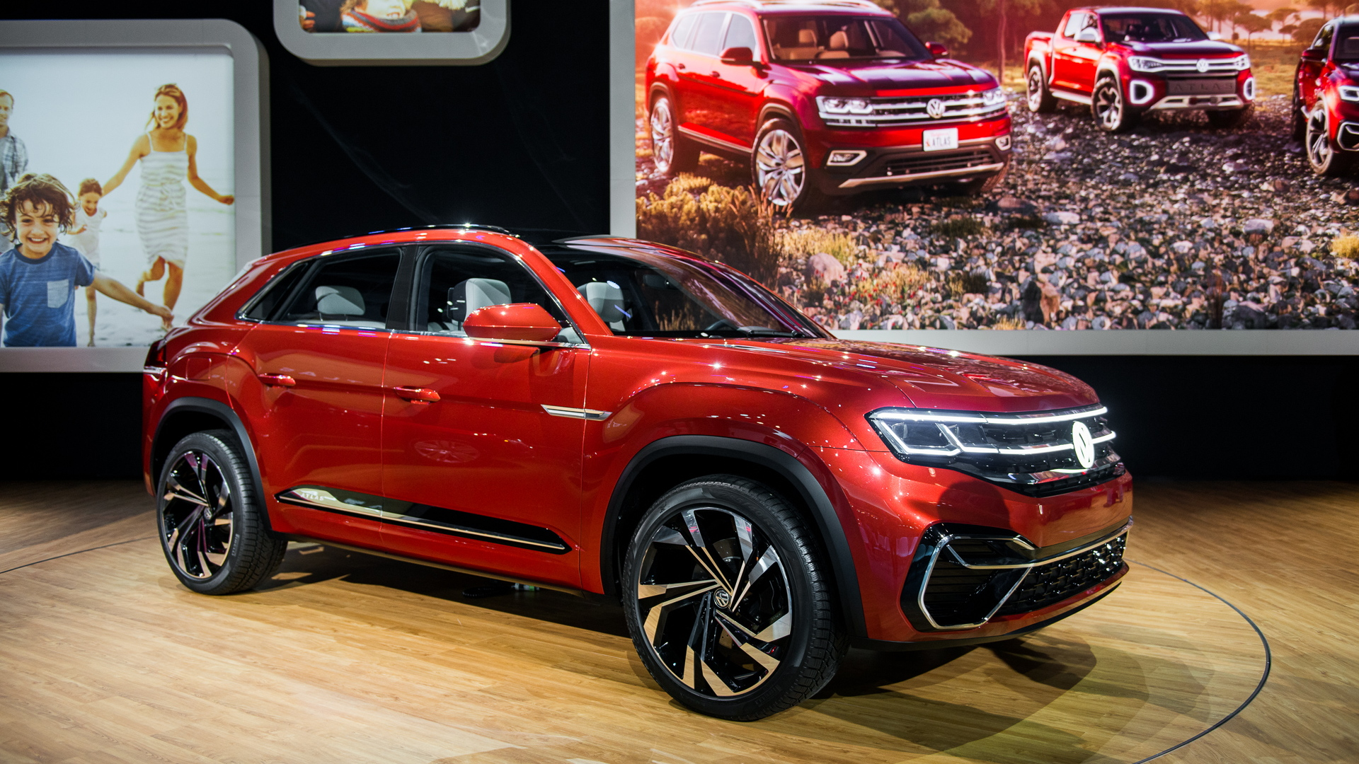 Volkswagen Atlas Cross Sport concept, 2018 New York auto show