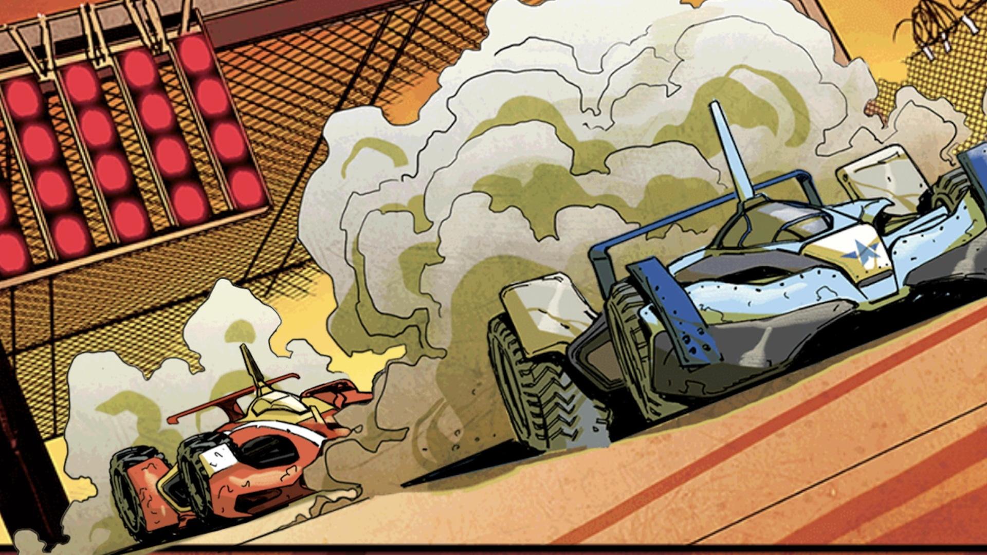 'We Race' web comic