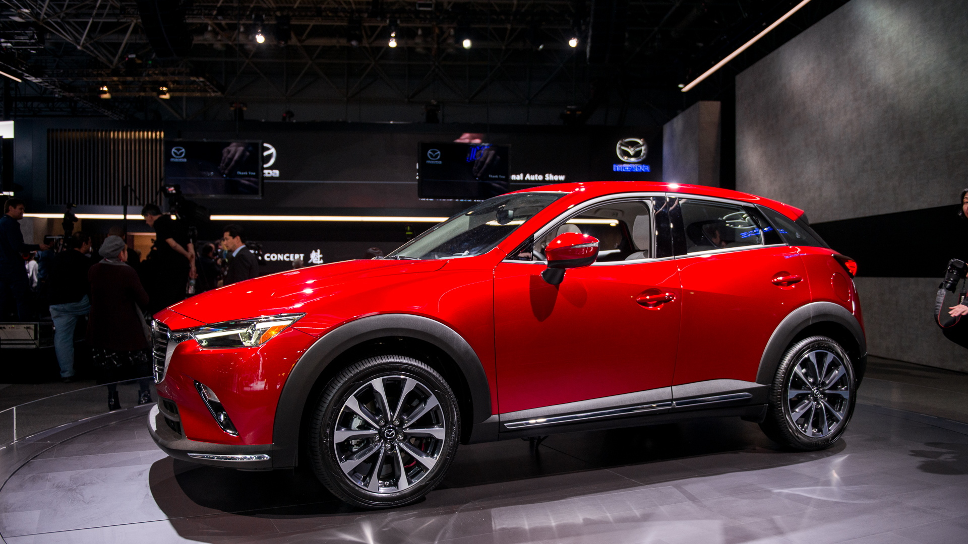 2019 Mazda CX-3, 2018 New York auto show