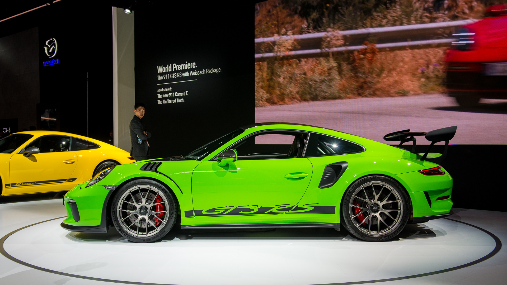2019 Porsche 911 GT3 RS Weissach package, 2018 New York auto show
