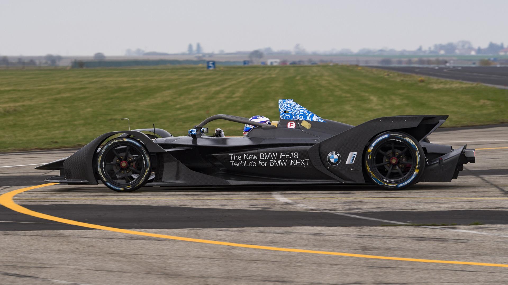 2018/2019 BMW iFE.18 Formula E race car