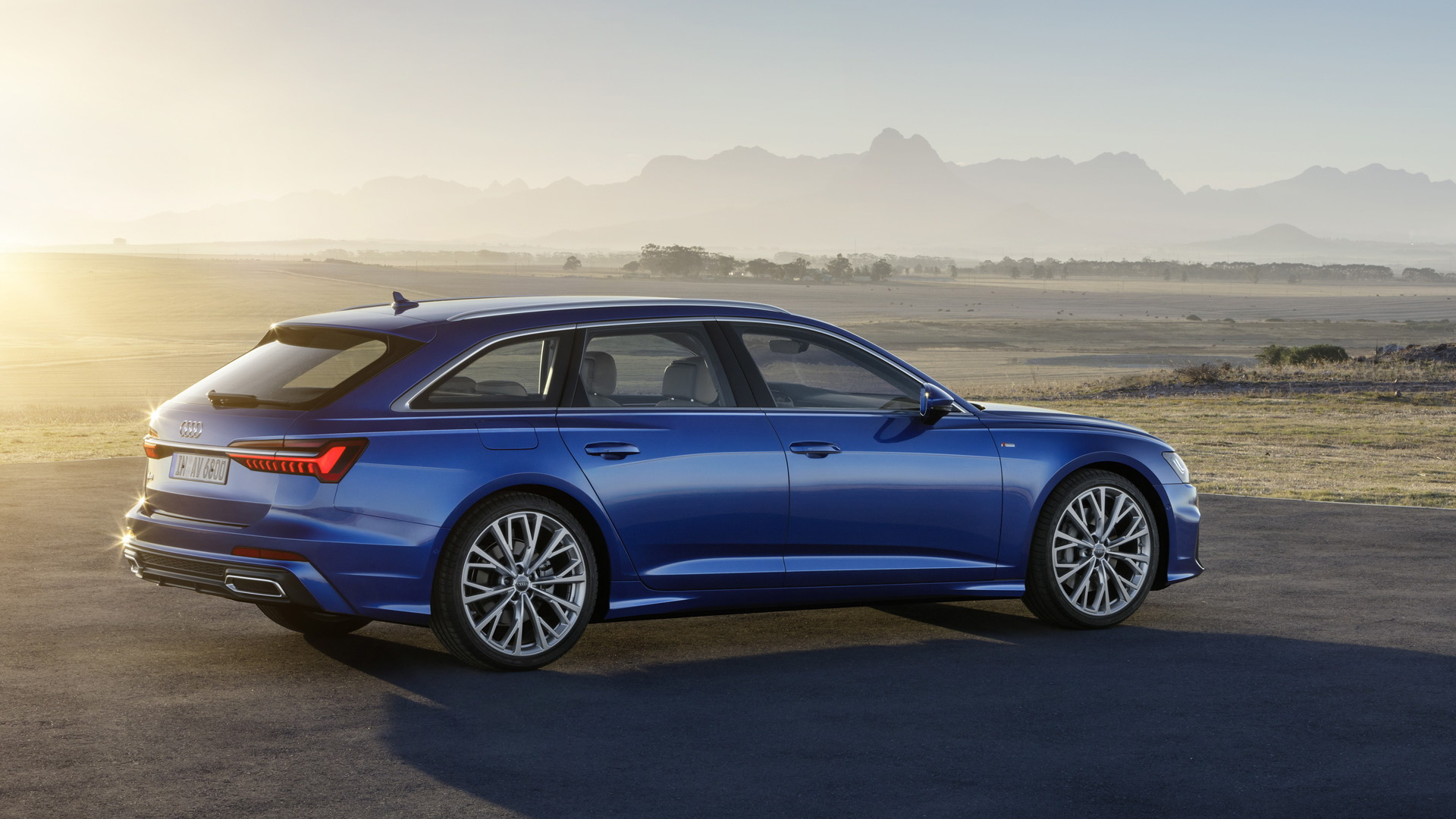 2019 audi a6 avant wagon revealed for Lunghezza audi a6 avant 2016