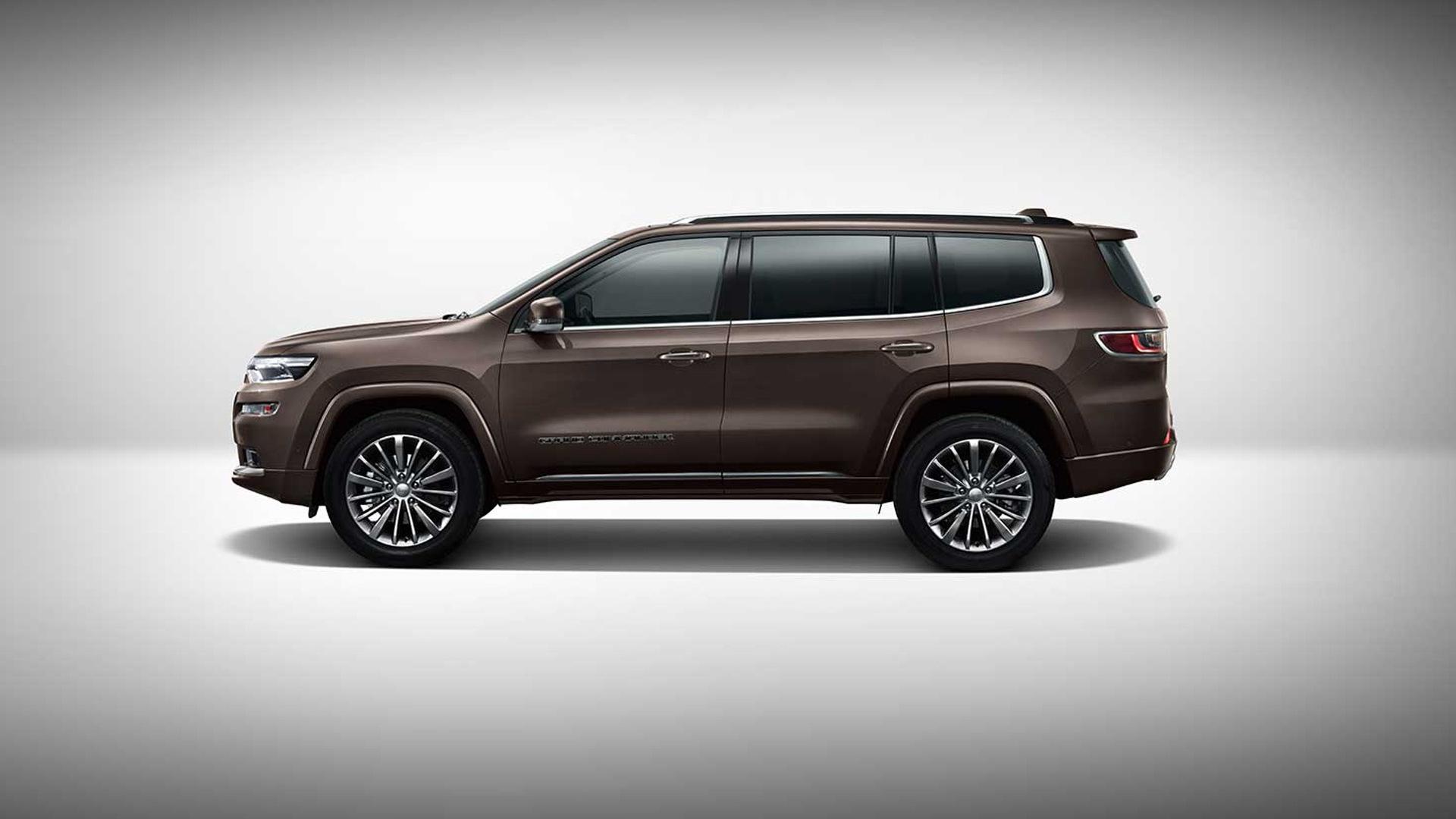 jeep grand commander debuts at 2018 beijing auto show. Black Bedroom Furniture Sets. Home Design Ideas