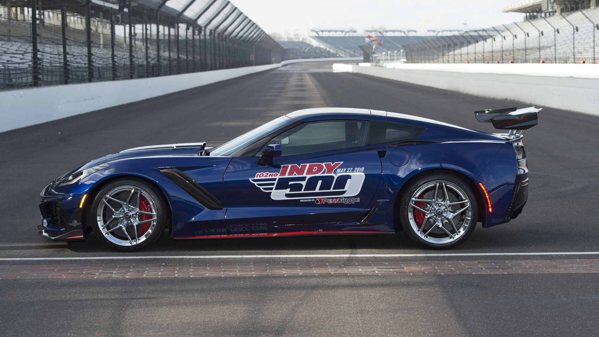 2019 Indy 500 Pace Car: 2019 Corvette ZR1 Is Most Powerful Pace Car In Indy 500