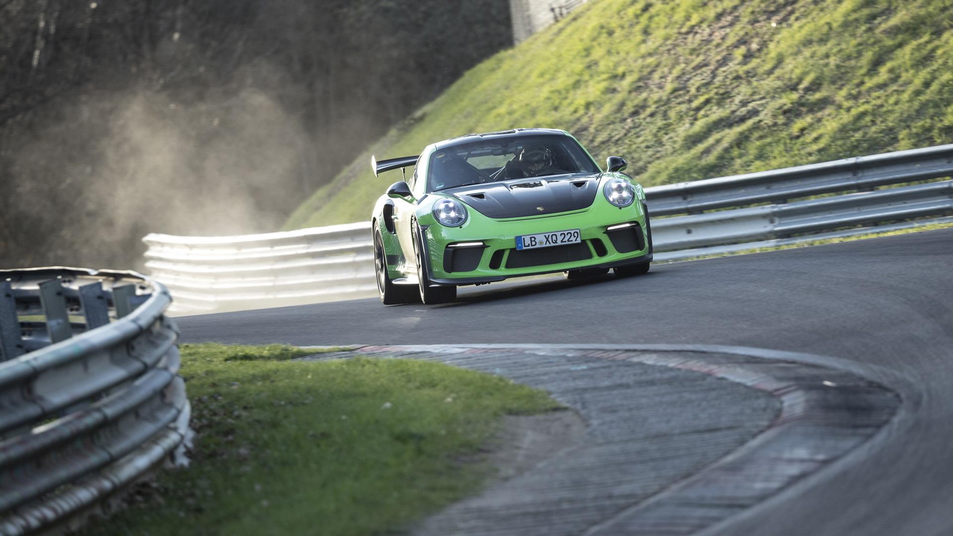 2019 Porsche 911 GT3 RS at the Nürburgring