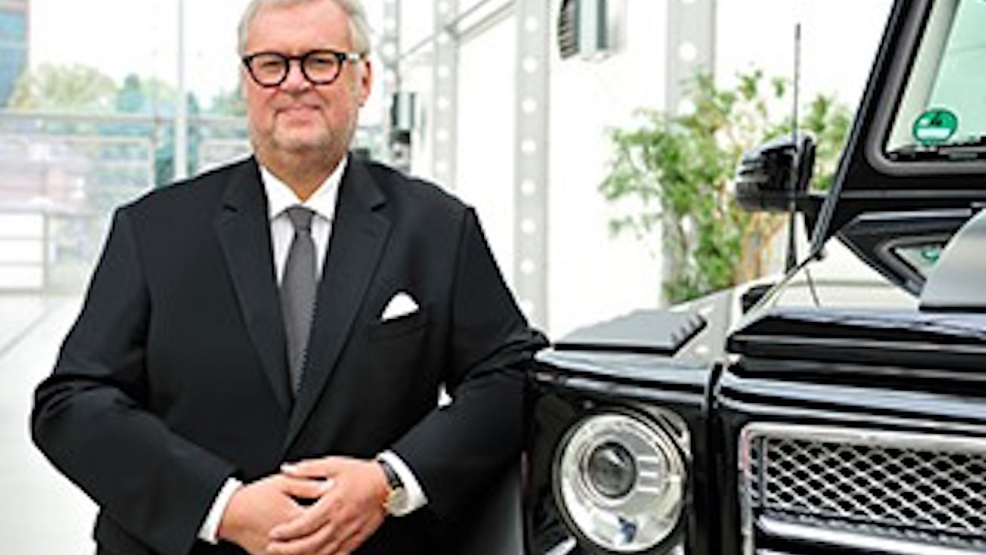 Brabus founder and CEO Bodo Buschmann
