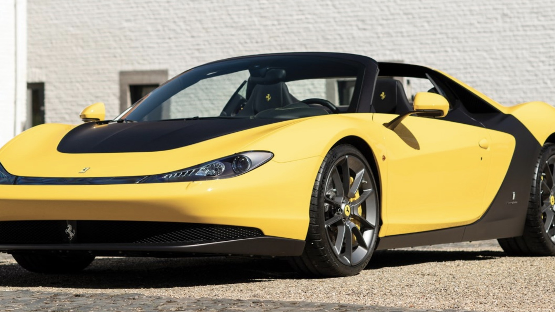 First production Ferrari Sergio for auction