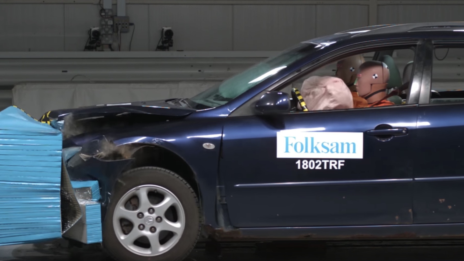Rusty cars compromise crash safety