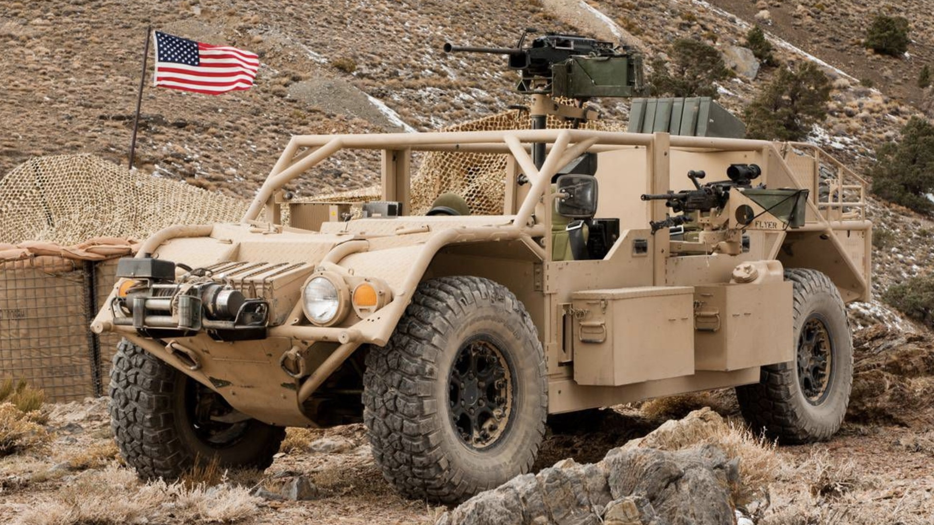 US Army's Ground Mobility Vehicle