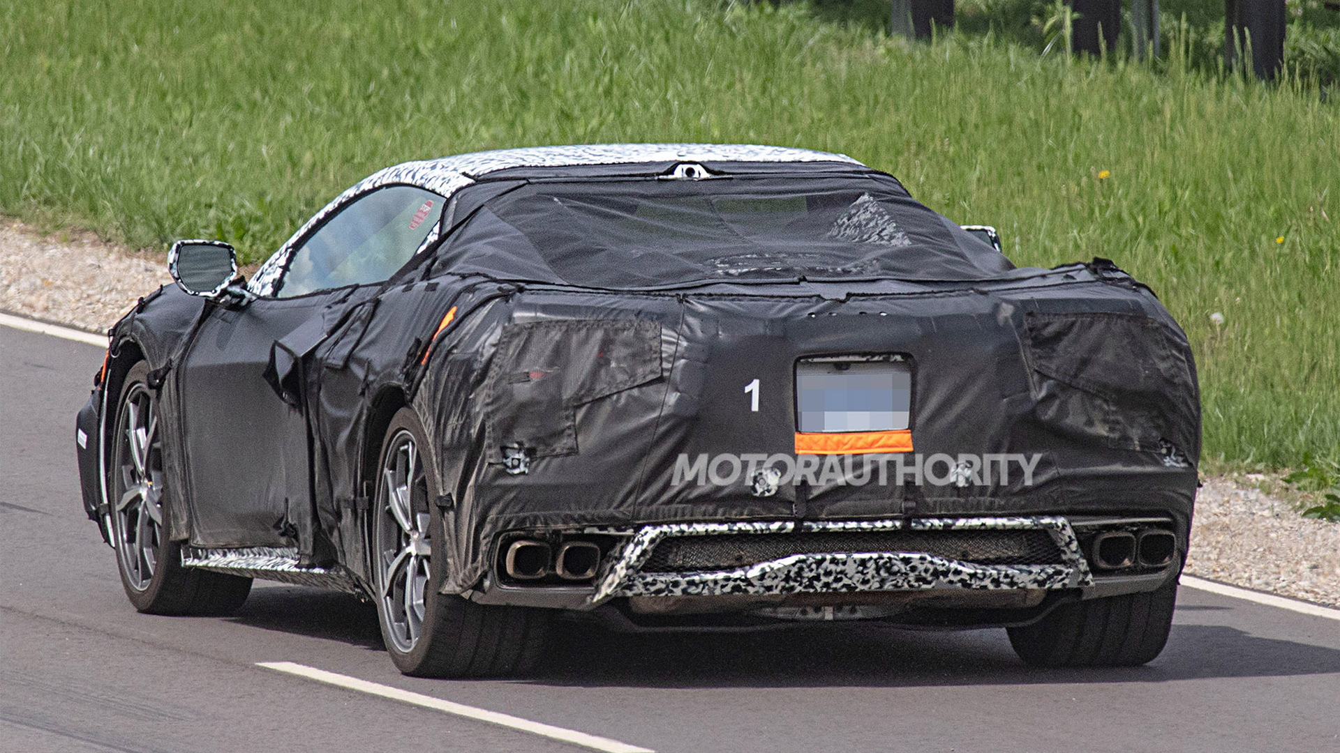 Report Mid Engine C8 Corvette To Get Flat Crank 600 And 800 Hp V