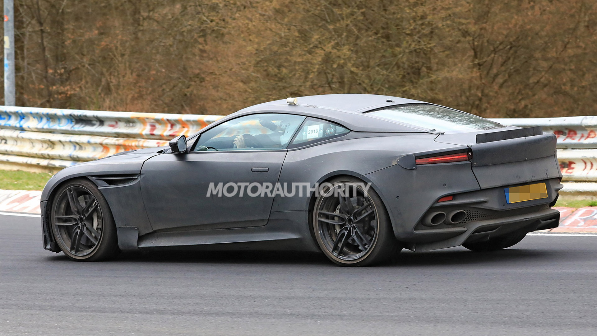 2020 Aston Martin DBS Superleggera spy shots - Image via S. Baldauf/SB-Medien