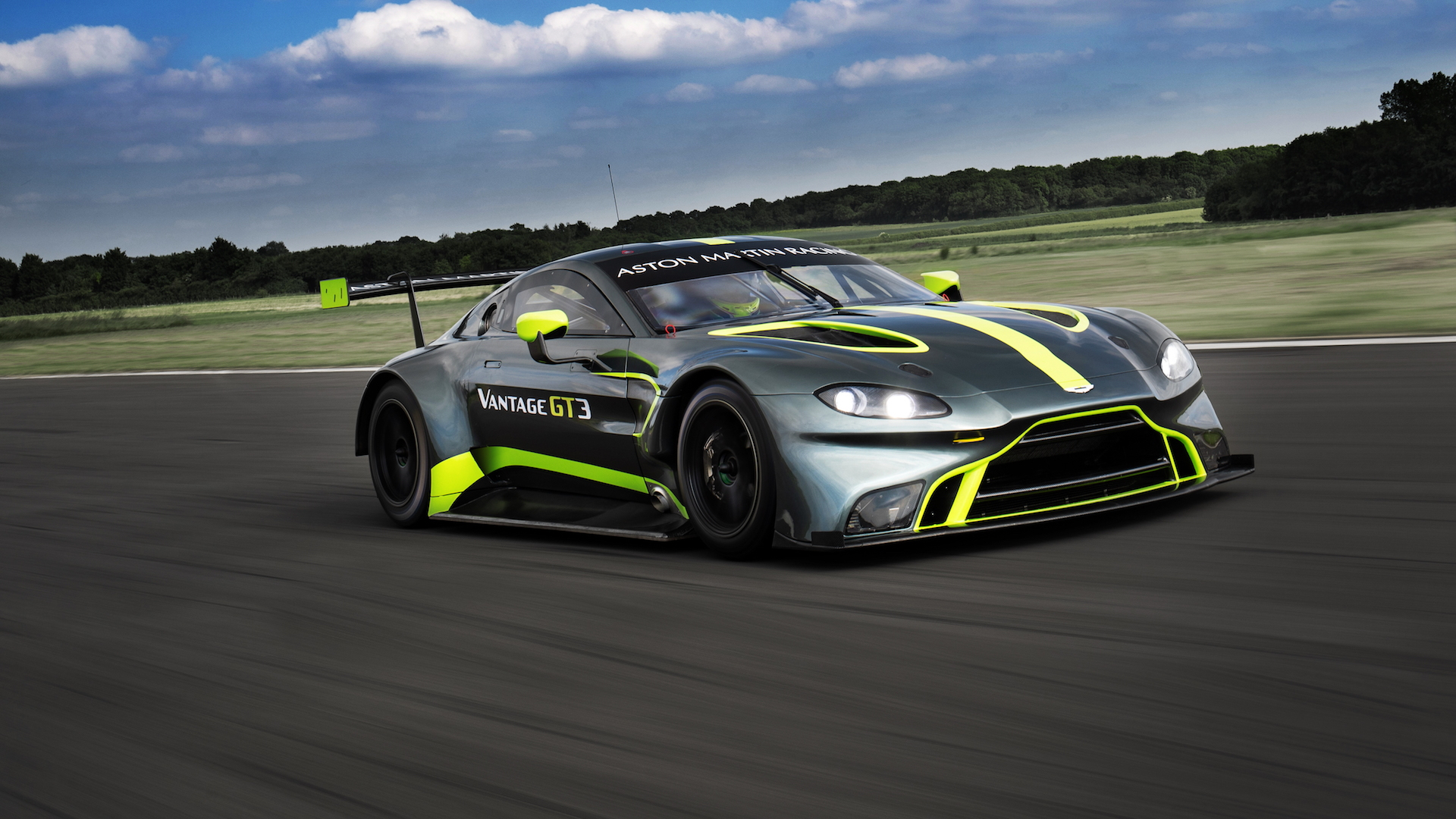 Aston Martin Vantage GT3 customer race car