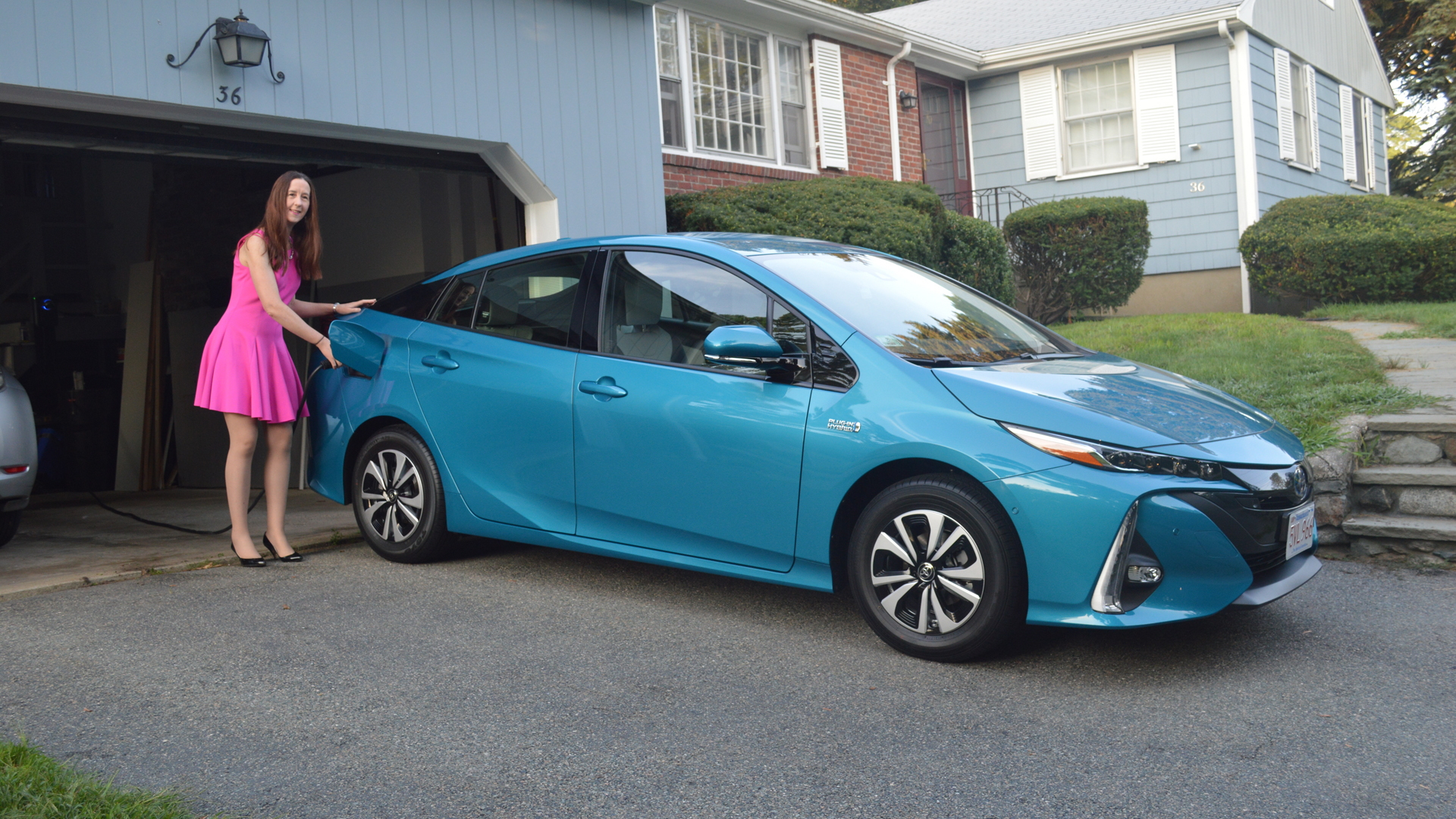 In the end, we chose a Prius Prime