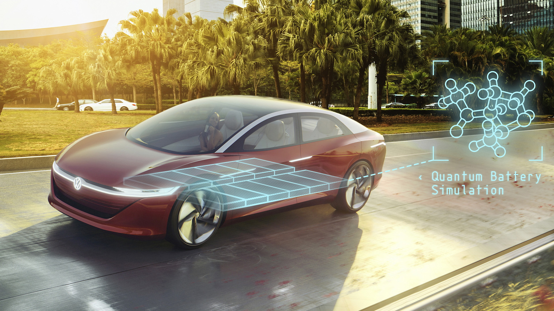 VW to use quantum computers in electric-car battery development