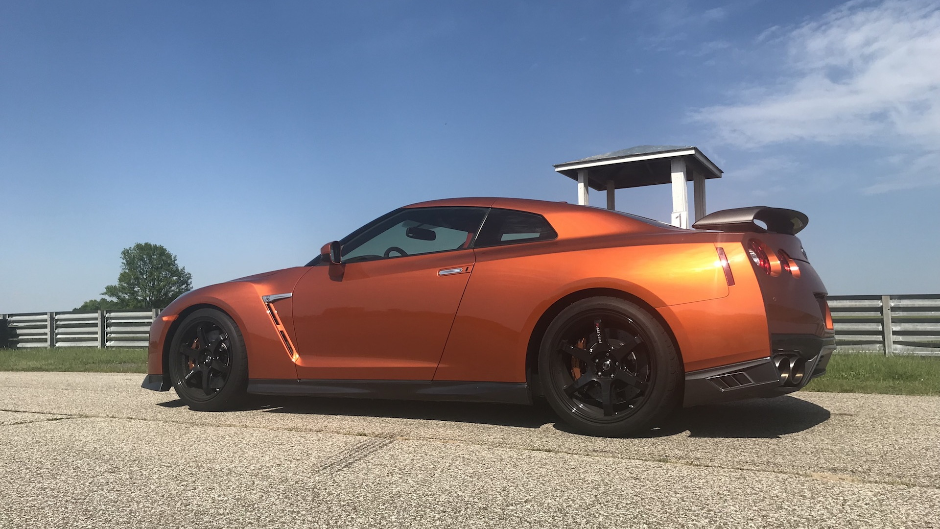 2018 Nissan GT-R Track Edition, Gingerman Raceway, May 2018