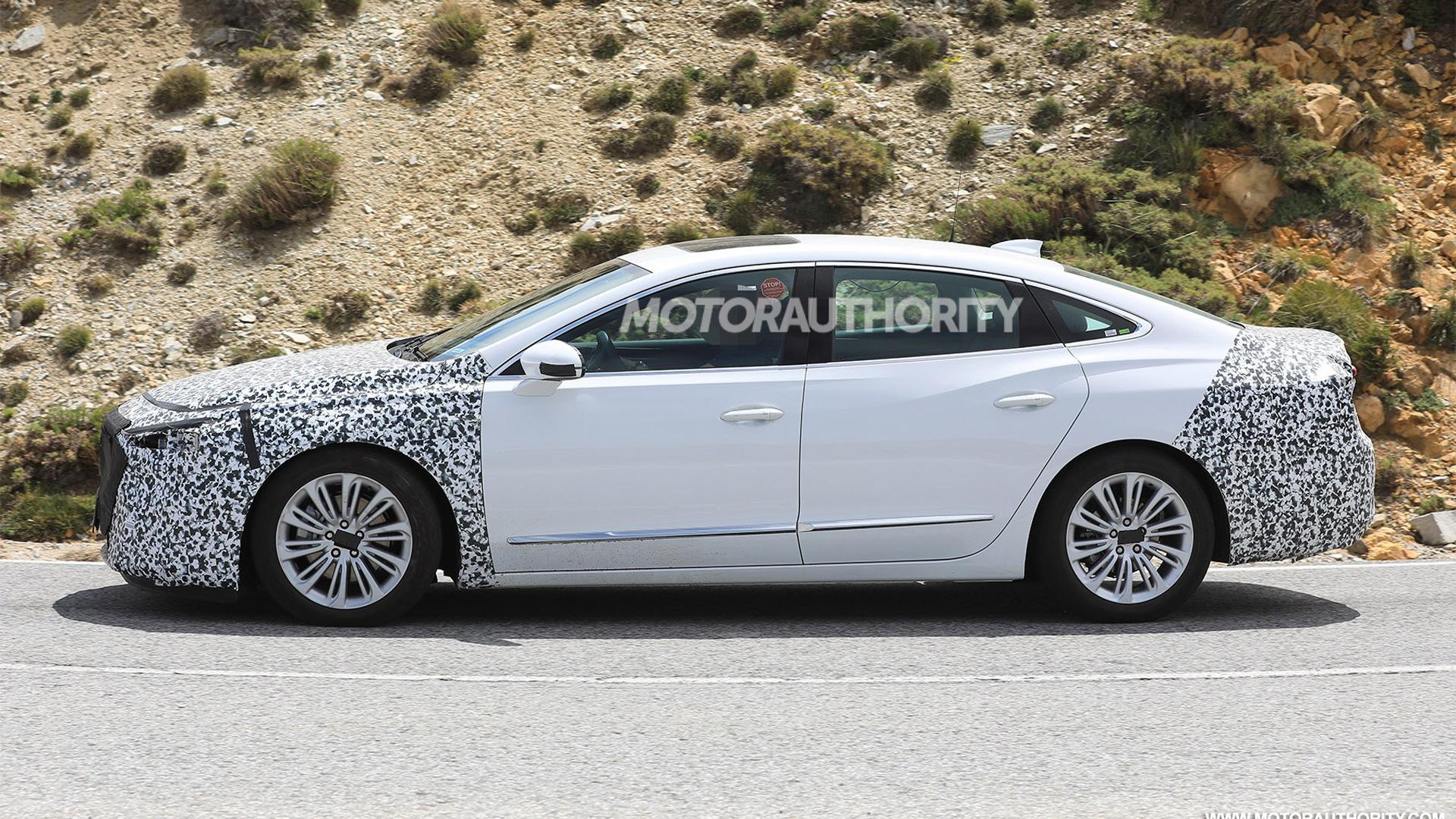2020 Buick LaCrosse facelift spy shots - Image via S. Baldauf/SB-Medien