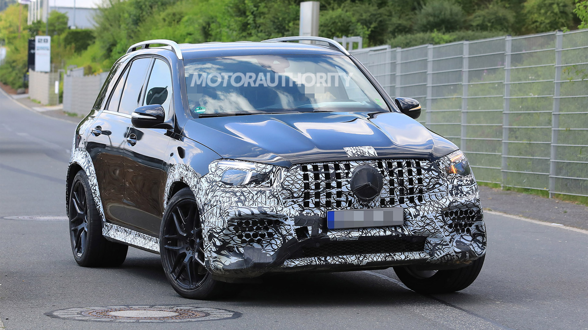 2021 Mercedes Amg Gle63 Spy Shots And Video