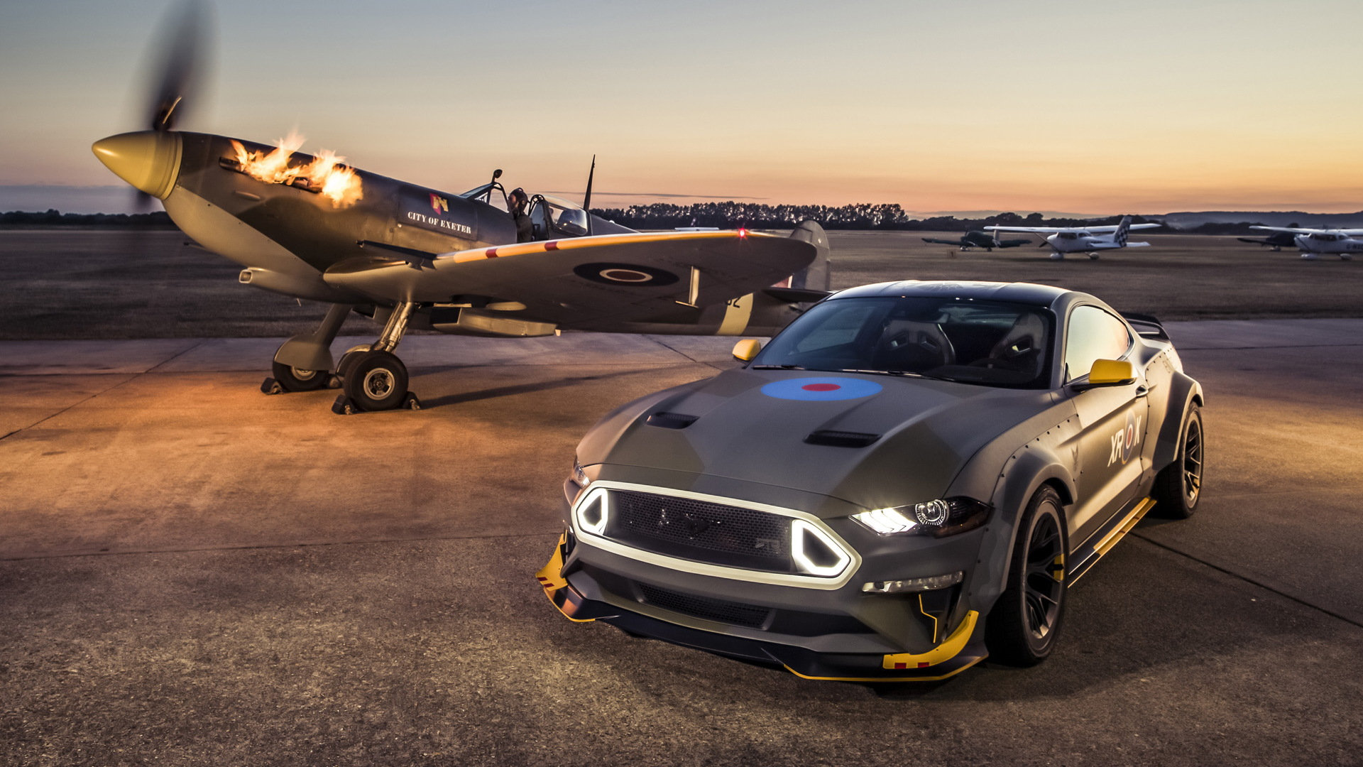 2018 Eagle Squadron Ford Mustang GT