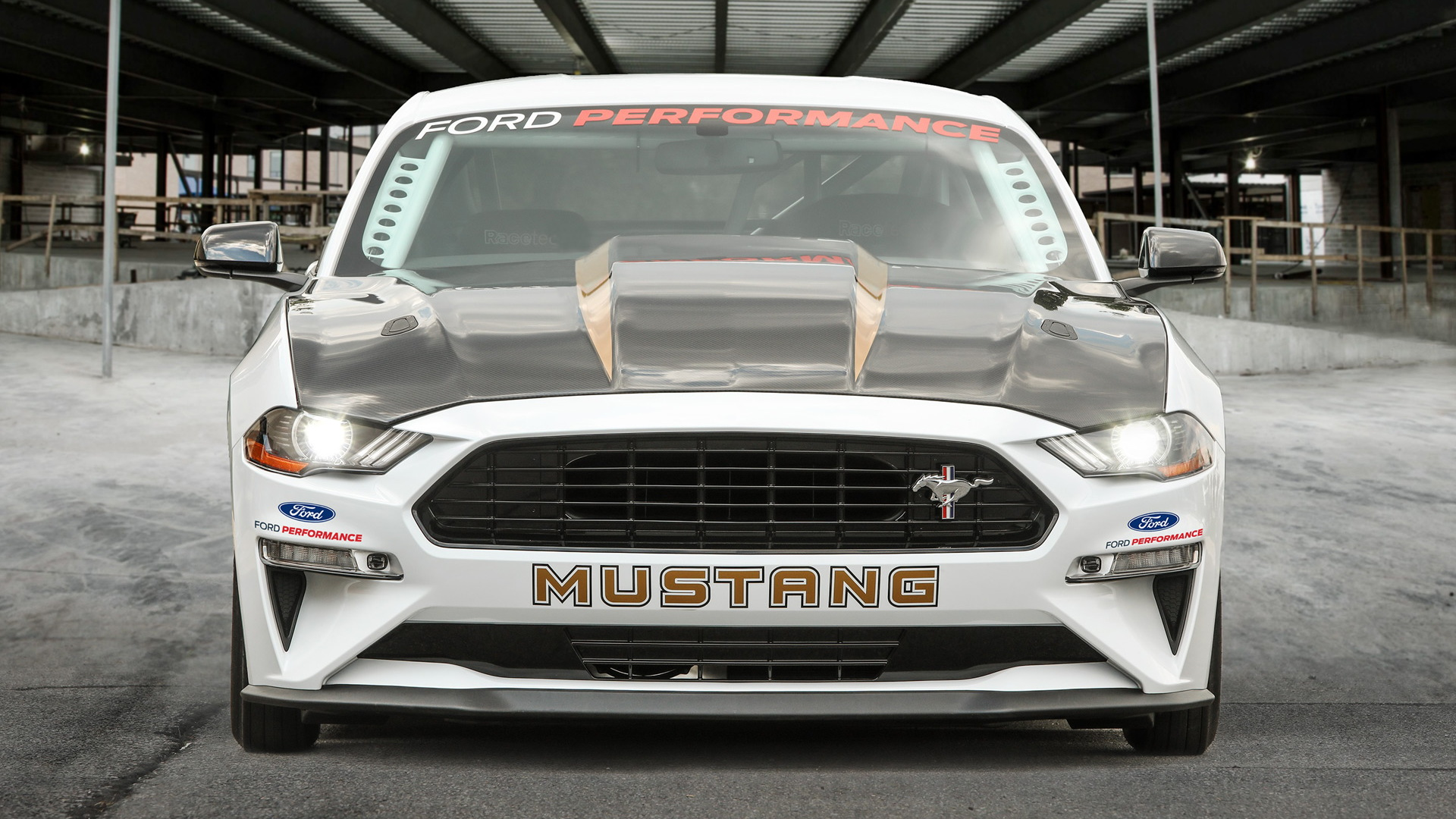 2018 Ford Mustang Cobra Jet drag race car