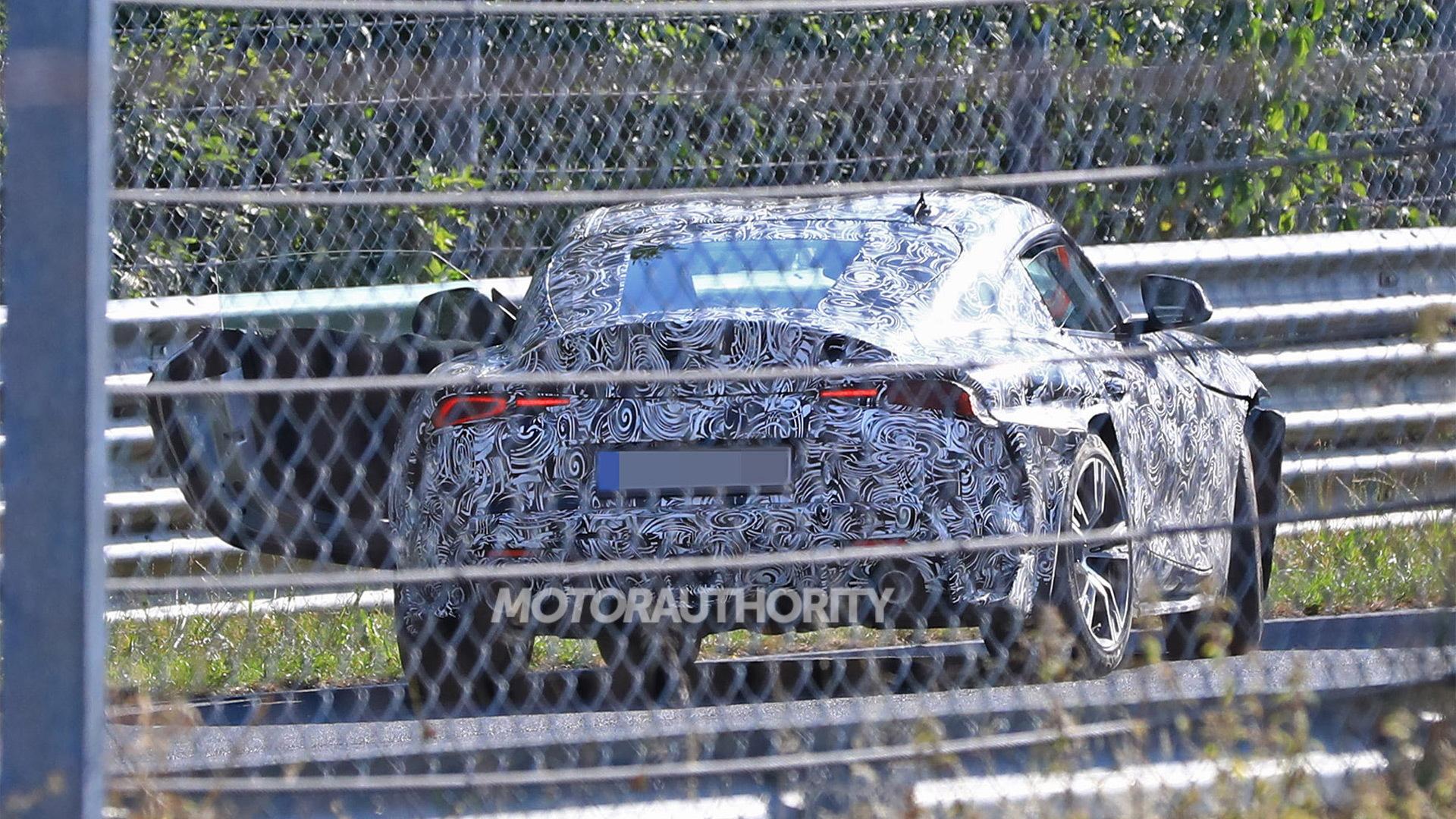 2020 Toyota Supra spy shots - Image via S. Baldauf/SB-Medien