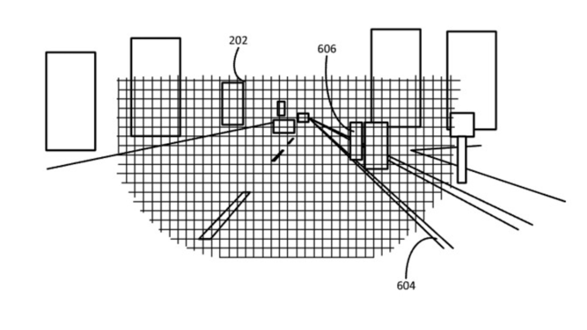 Apple headlight system patent to detect hazards