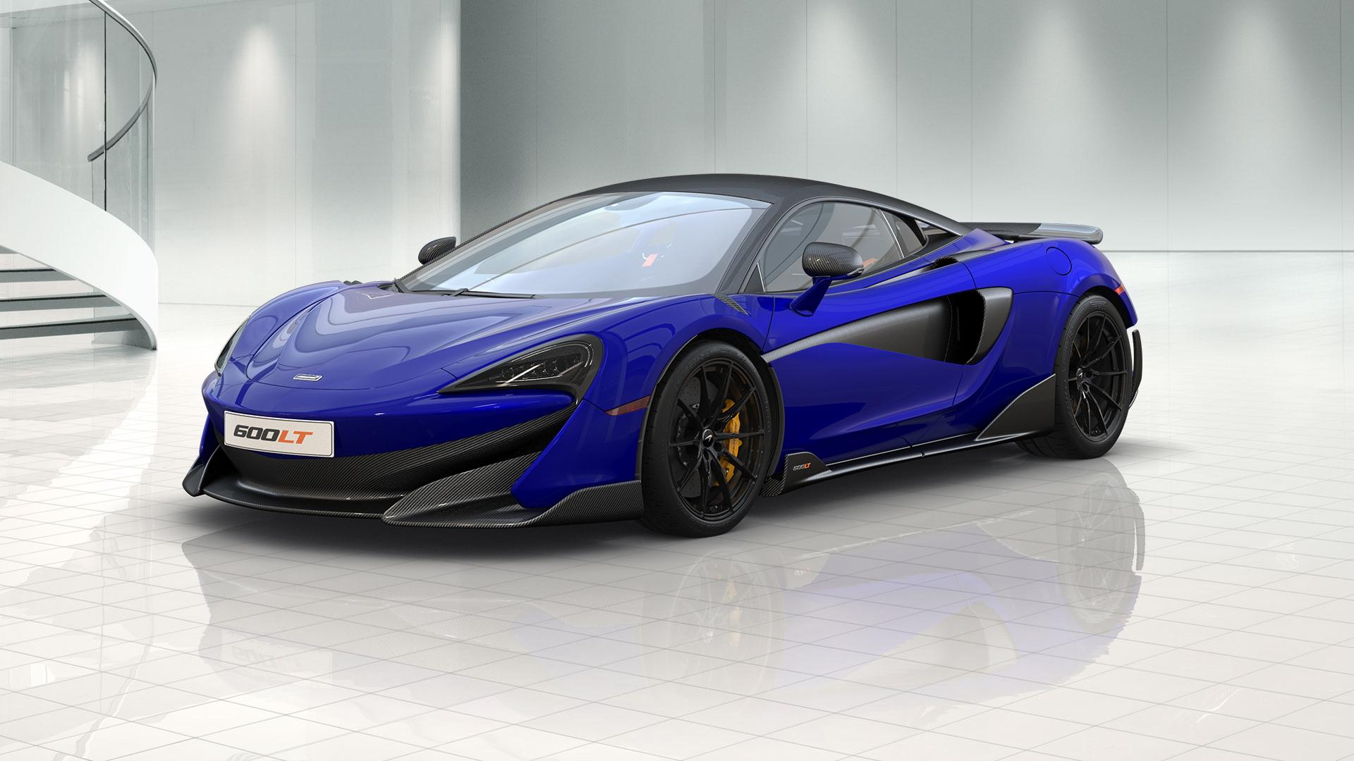 McLaren 600LT online configurator