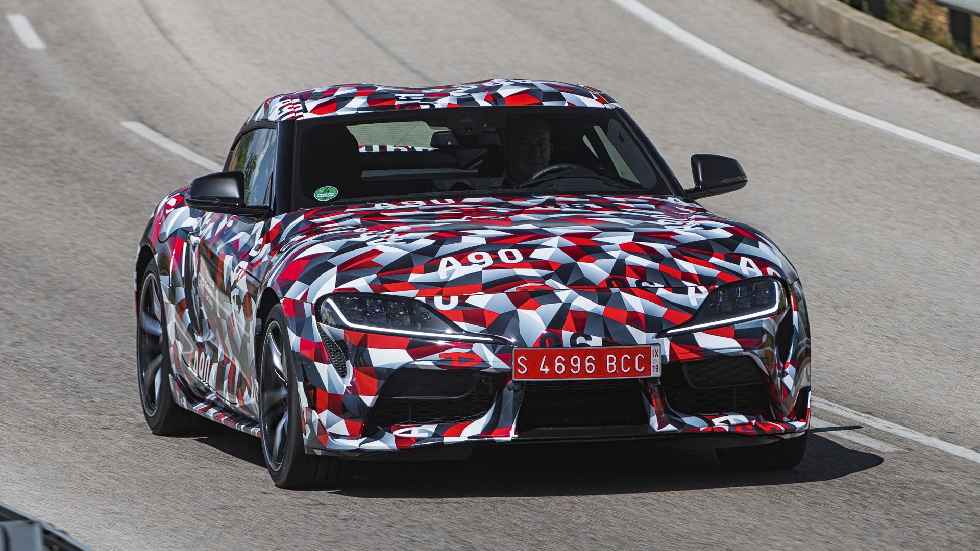 2020 Toyota Supra prototype
