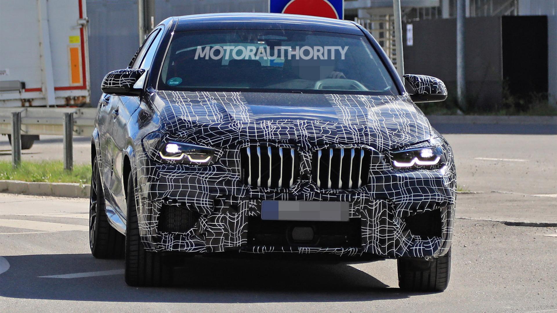 2020 BMW X6 M spy shots - Image via S. Baldauf/SB-Medien